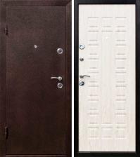 Дверь металлическая Йошкар Беленый дуб Левая