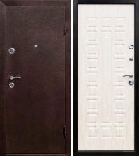 Дверь металлическая Йошкар Беленый дуб Правая