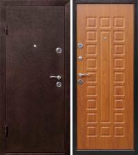 Дверь металлическая Йошкар Золотистый дуб Левая