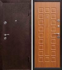 Дверь металлическая Йошкар Золотистый дуб Правая
