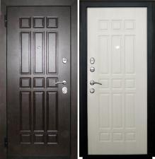 Дверь металлическая SD-Prof 5 Сенатор Беленый дуб