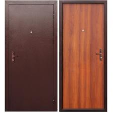 Дверь металлическая СТРОЙГОСТ 5-1 (Дуб рустикальный) Левая