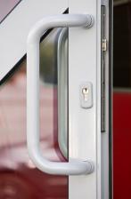 Дверь входная ПВХ офисная скоба 900 мм