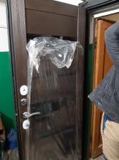 Фото сделано сотрудниками компании Окна и Двери внутренняя сторона