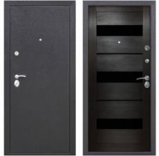Дверь металлическая Гарда Муар Царга цвет темный кипарис