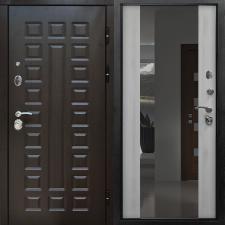 Дверь металлическая МД-30 (СЕНАТОР) с зеркалом