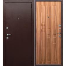 Дверь металлическая Гарда 8 мм дуб рустикальный