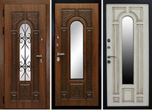 Дверь металлическая РИМ +  КОВКА (только под заказ)