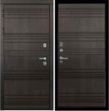 Дверь металлическая SD-Prof-36 Фортуна  Горький шоколад